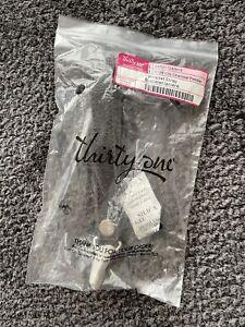 thirty one wristlet strap gray