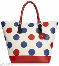 FURLA BON BON XL SHOPPER IN POLKA DOT - NWT- MSRP $398