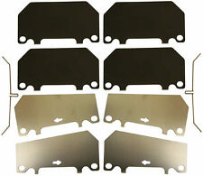 Mazda Rx7 Rx-7 Front Brake Pad Hardware Kit 4-Piston Calipers Only 1986 To 1991