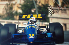 Christian Danner SIGNED 12x8 , F1 Rial-Cosworth ARC2 , Monaco GP 1989