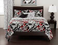 3-Piece Poppy Forest Cal King Size Duvet Cover Set