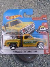 Hot Wheels 2017 #011/365 1978 DODGE LI'L RED EXPRESS TRUCK yellow HW Hot Trucks