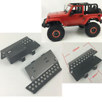 KYX Metal Side Step Rock Slider Plate Peddle for 1/10 Axial SCX10 II RC Crawler