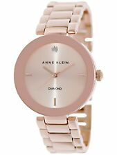 Anne Klein Women's AK-1362RGRG Rose-Gold Stainless-Steel Fashion Watch