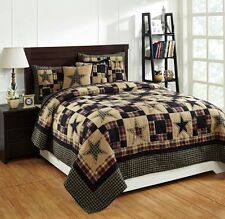 "** 3 Piece QUEEN ""REVERE"" Quilted Bedding SET ~ Country, Primitive**"