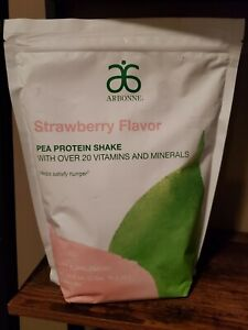 Arbonne Limited Edition - Pea Protein Shake - Strawberry *SOLD OUT* Free Shippin