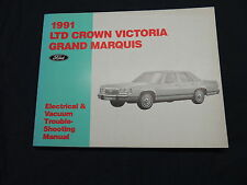 LTD Crown Victoria/Grand Marquis 1991 Electrical manual officina manuale