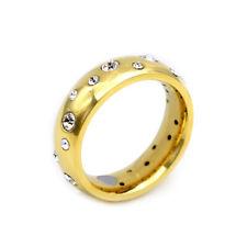 Energetix 4you 9010 Magnetic Ring Gold Design Starry Sky Swarovski crystal Tcm