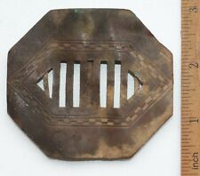 Antique Ornament Brass Belt Buckle (NOW)