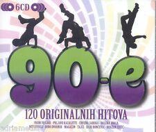 90-e 6 CD 120 originalnih hitova Parni Valjak Prljavo Kazaliste Tajci Crvena Cro
