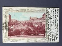 ±1904 Postcard SYDNEY WYNYARD SQUARE Robert Jolley AUSTRALIA