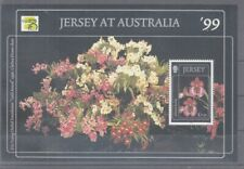 Plants - Flowers Jersey Block 22 (MNH)