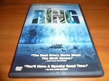 The Ring (DVD, 2003, Widescreen) Naomi Watts, Martin Henderson Used Horror