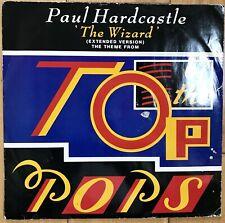 """Paul Hardcastle - The Wizard 12"""" Vinyl Synth-Pop 1986 PAULX3 VG"""