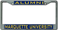 Marquette University Alumni License Plate Frame