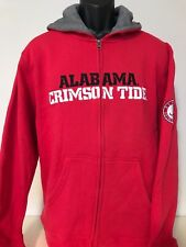 Alabama Crimson Tide Full Zip Hoodie Big & Tall Jacket Bama