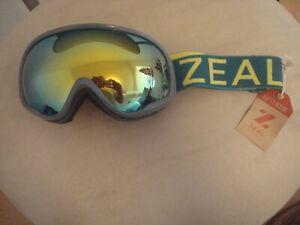Zeal Optics, Optimum, Green Chartreuse, Goggles