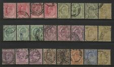 Cape of Good Hope Collection 24 KEVII Values Used
