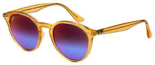 Ray-Ban Sunglasses RB 2180F 6277B1 49 Translucent Yellow | Violet Gradient Mirro