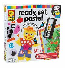 ALEX Toys Little Hands Ready Set Paste, Playfully Learn How To Paste 1466 NEW