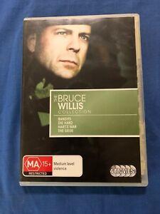 The Bruce Willis Collection Bandits/Die Hard/Harts War/The Siege- DVD - Region 4