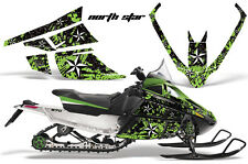 AMR Racing Sled Wrap Arctic Cat F Series Snowmobile Graphic Kit All Years NSTR G