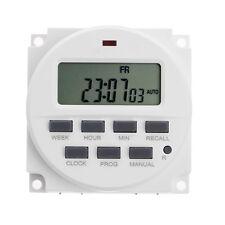 "15.98""  LCD Digital Timer 12V DC 7 Days Programmable Time Switch TM618N-4"