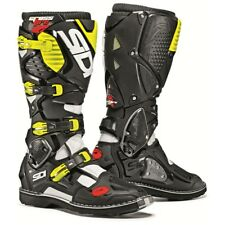 Motorcycle Enduro Boots SIDI CROSSFIRE 3 Black/Fluo - size 42