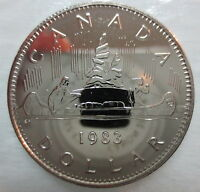 1983 CANADA VOYAGEUR DOLLAR PROOF-LIKE COIN