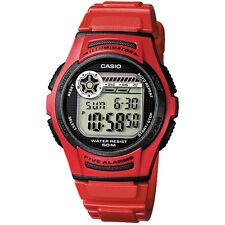 Casio W-213-4a Herren Armbanduhr 4971850437130 Quarz Plastik Armband
