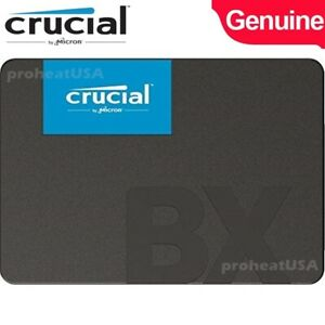 Crucial BX500 120GB 3D NAND SATA III 3.0 Internal 2.5-Inch SSD Solid State Drive