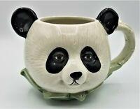 Panda Bear Black White Coffee Tea Mug Cup Fun Gift Large Beverage