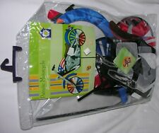 New Sun Tex Patriotic Motorcycle accent spinner for garden or yard
