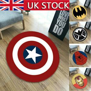 Superhero Avengers Floor Rug Non-Slip Bath Bedroom Floor Mats Marvel Home Decor