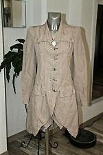 exceptionnelle veste longue sable HIGH USE taille 38 fr W27 neuf/étiquette 1000€