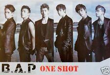 """B.A.P. """"ONE SHOT"""" ASIAN POSTER- Korean Boy Band, K-Pop, Hip-Hop, R&B, Rock Music"""
