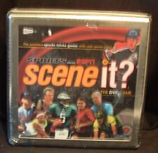 Scene it? Sports Powered by Espn Dvd Game in Metal Collector Tin! Nip 2007