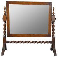 Cheval Mirror Mount Set Star Design Cast Brass