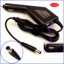 Laptop Car DC Adapter Charger + USB for Dell 1420 1440 1501 GX808 N4030 N5110