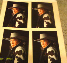 Lot Of 4 Buck Owens Photo Postcards