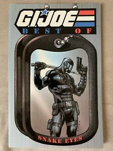 G.I. Joe Best Of Snake Eyes TPB In Brand New Condition