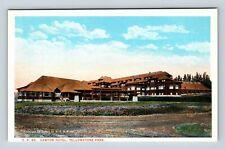 Yellowstone Park, Canyon Hotel, Vintage Postcard W9