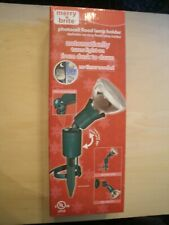 New Photocell Automactic Dusk to Dawn Adjustable Flood Lamp Holder