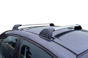 Aerodynamic Roof Rack Cross Bar for Mazda 6 02-07 GG Alloy Flush End