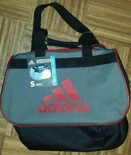 Adidas Diablo Small Duffel bag. Red, black, gray. Gym. Luggage. Adjustable strap