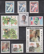 Dominican Republic MNH Complete Year Unit for 2003 Scott 1393-1398, 1401-1403