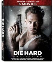 Die Hard 5-Movie Collection: 1 / 2 / 3 / 4 / 5 (5 Disc) BLU-RAY NEW