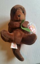 Ty Beanie babies collection - Seaweed -  Retired 1995 - P.V.C Pellets