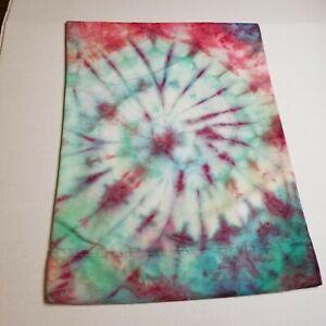 Tie Dye Pillow Case Trippy Bed Custom A83