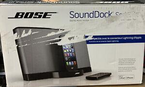 ✅ Bose SoundDock Series III System w/Lightning Dock Bose Sound iPhone, See Pictu